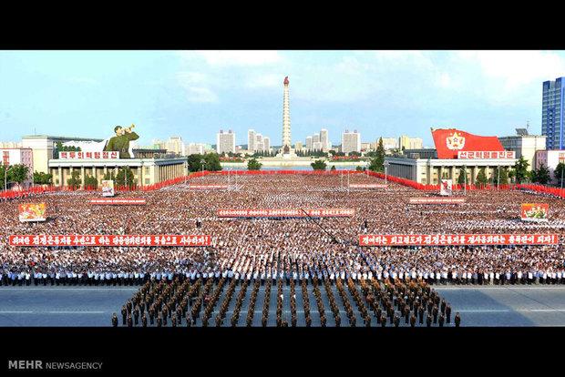 اعتراض مردم کره شمالی به تحریم های سازمان ملل