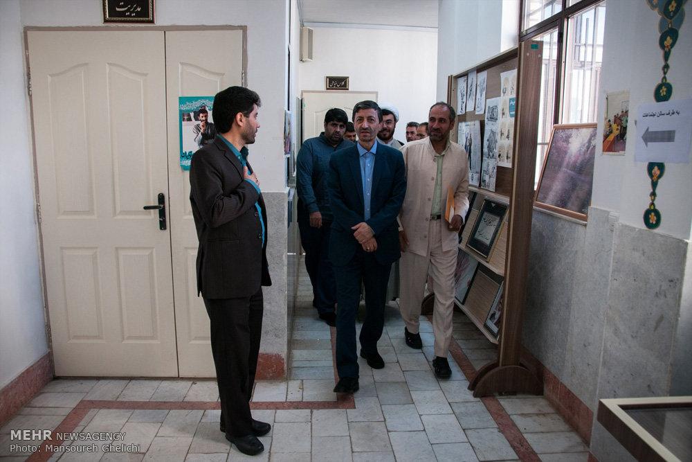 سفر  رئیس کمیته امداد امام خمینی (ره) به شاهرود،میامی