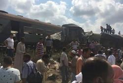 مقتل واصابة 150 شخصا بحادث تصادم قطارين قرب الإسكندرية