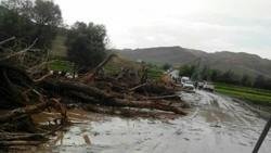 ادامه وضعیت خطر در استان گلستان تا فردا