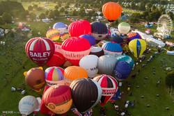 جشنواره بین المللی بالون ها در بریستول