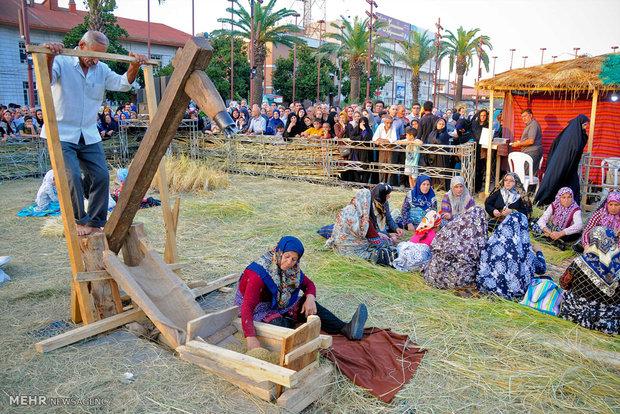 Reşt kentinde Jukul Festivali