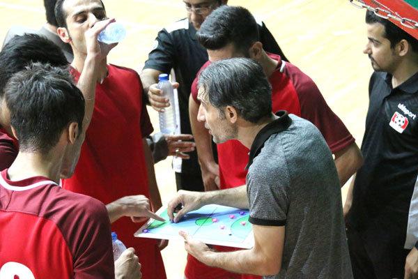 دیدار تیم فوتسال آتلیه طهران قم و تیم هیئت فوتبال قم