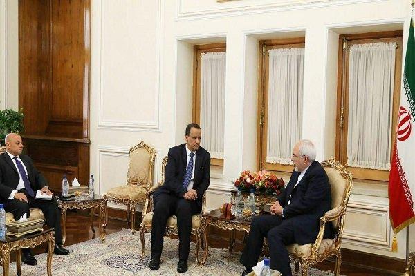 ظريف يؤكد على ضرورة  إنهاء الكارثة الإنسانية في اليمن