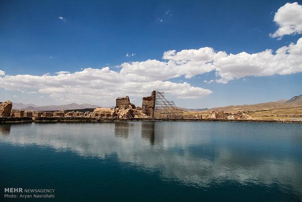 تخت سلیمان ، یادگاری به قدمت 3000 ساله