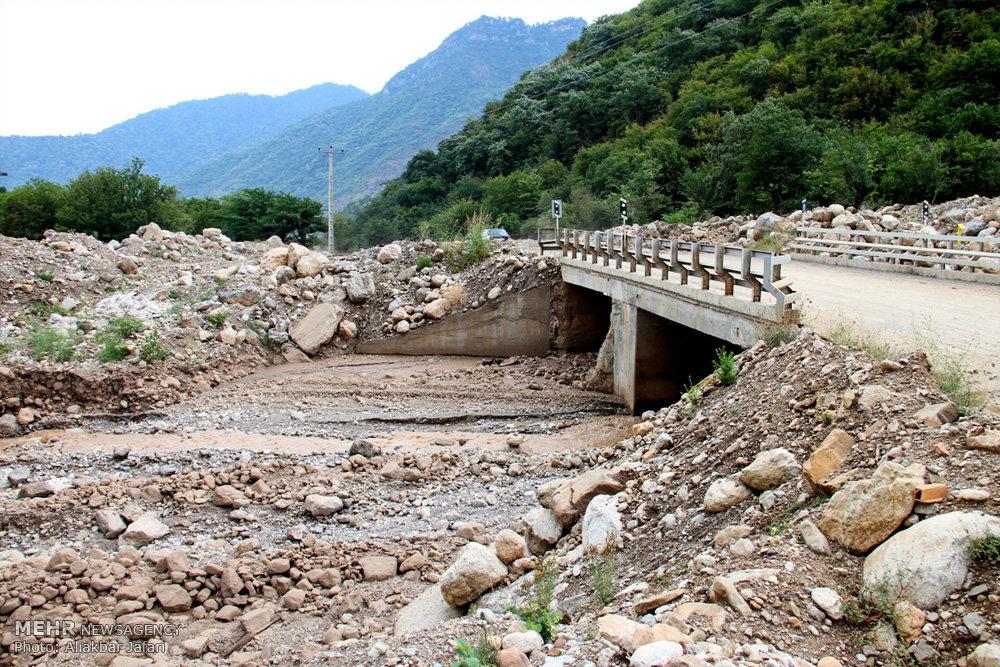 خسارات سیل در استان گلستان