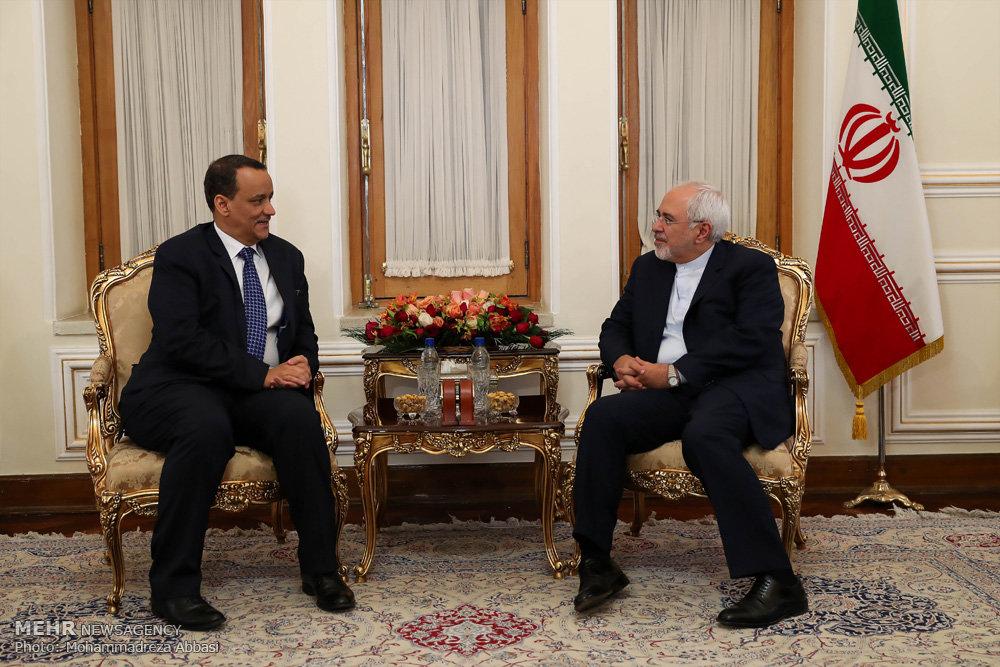 دیدار فرستاده ویژه سازمان ملل در امور یمن با وزیر امور خارجه