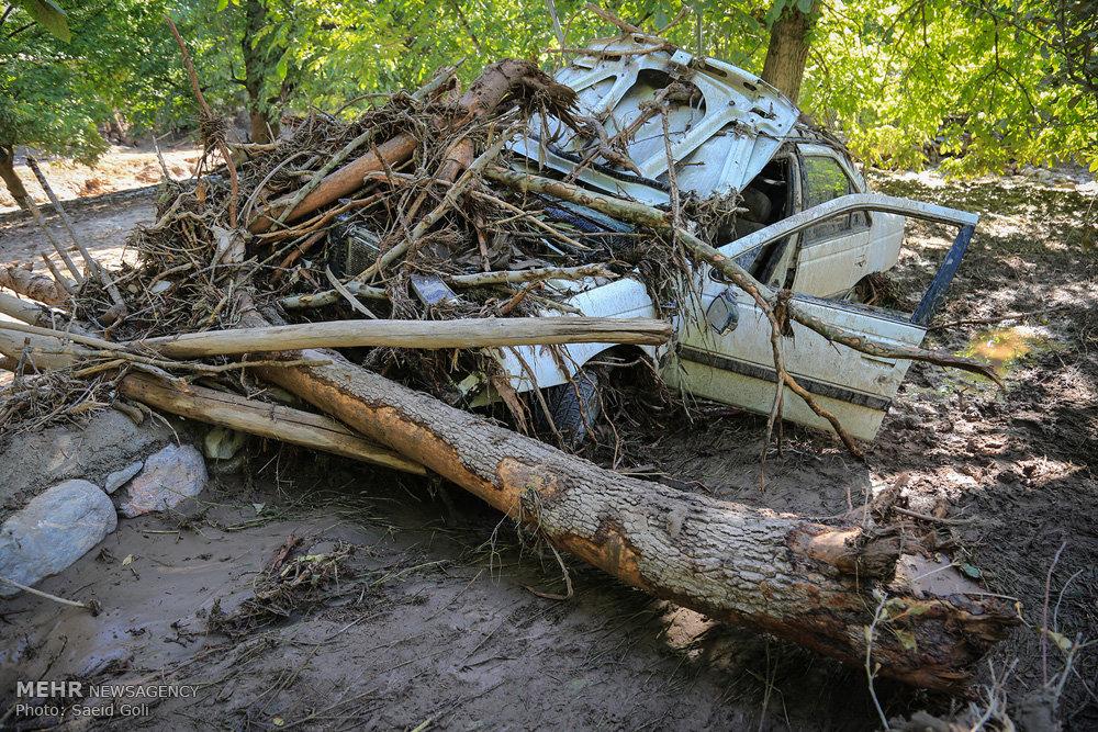 خسارات سیل در خراسان رضوی