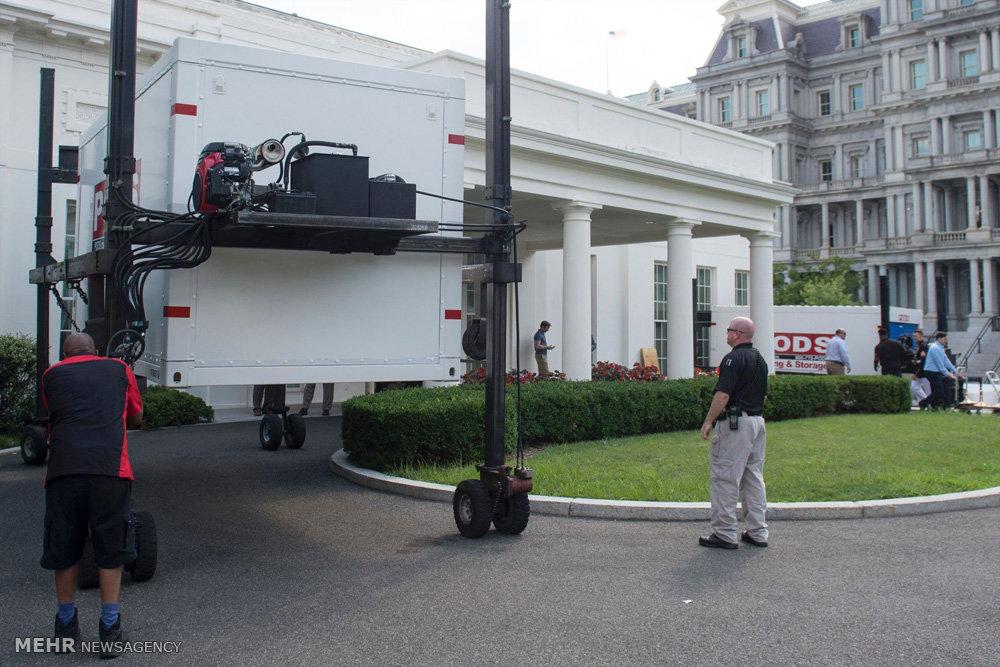 تعمیرات در کاخ سفید