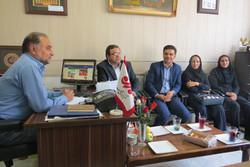بازدید خبرنگاران ایرنا از مهر قزوین
