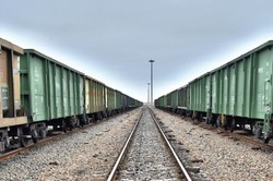 Rail freight transit up by 75%