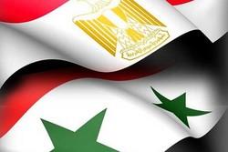 پرچم سوریه و مصر