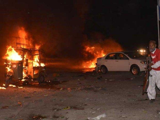 دھماکہ پاکستان