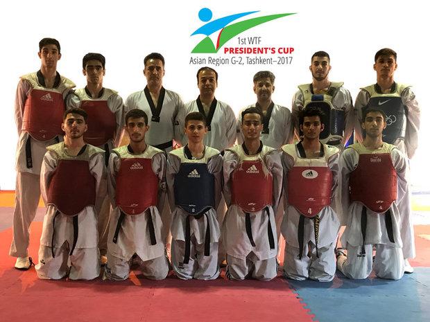 Taekwondokas claim 5 medals at WT President's Cup