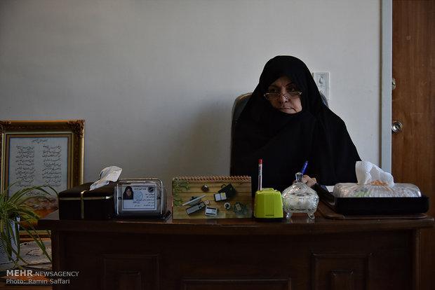 موسسه خیریه مکتب عصمتیه - فرنگیس عنبری یزدی