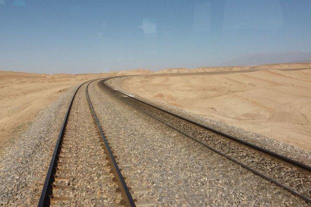 ریل قطار  -  راه آهن - قطار باری - قطار مسافری  - لوکوموتیو - کراپشده