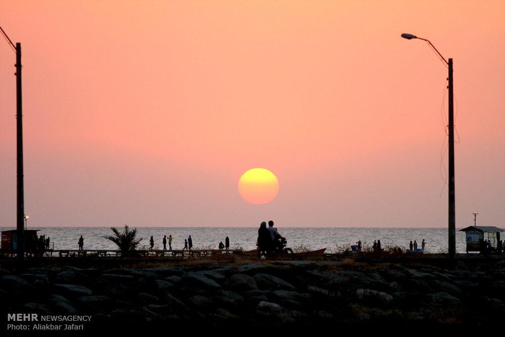 غروب و غربت خلیج گرگان
