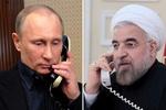 Rouhani, Putin discuss energy, region on phone