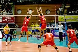 دیدار تیم های والیبال ایران و قزاقستان
