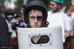 اشتباكات عنصرية في ولاية فرجينيا الأمريكية /صور
