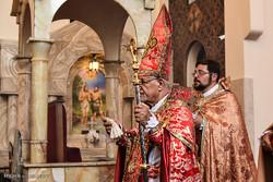 عيد تبرک انگور در کليسا سرکيس مقدس