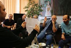 جلسه انتخاب آثار دوسالانه کاریکاتور تهران برگزار شد