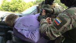 بازداشت تروریست روسیه
