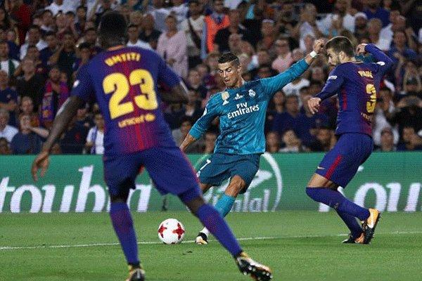 پیروزی قاطعانه رئال مادرید در ال کلاسیکو/رونالدو گل زد و اخراج شد