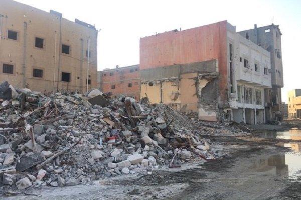 Şii kenti el-Avamiye'de büyük facialara yol açılıyor