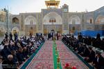 حضرت معصومہ (ع)کے حرم میں صحافیوں کی موجودگی میں خطبہ خوانی