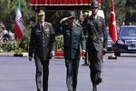 استقبال رئیس ستاد مشترک ارتش ترکیه از سرلشگر باقری در آنکارا