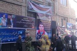 مراسم تشییع مرحوم محمدعلی فلاحتی نژاد