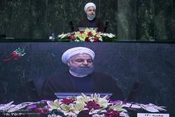 روحاني : مجلس الشورى والحكومة الإيرانية تتحملان مسؤولية عظمى لتحقيق مطالب الشعب