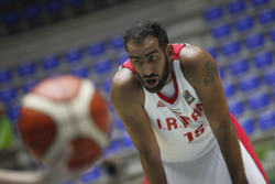 FIBA names Iran's Haddadi as top defender in Asia