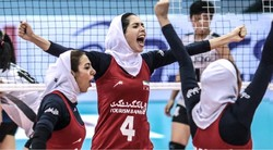 Iran's women volleyball team