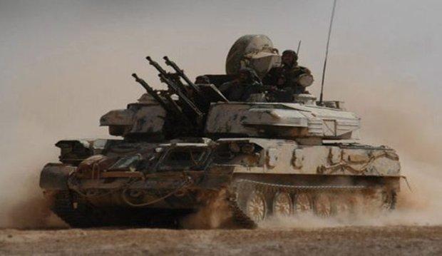 Syrian Army restores security to al-Qaryateen in Homs