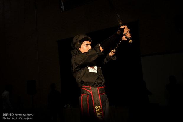 İranlı kadınlardan Kung Fu Toa gösterisi