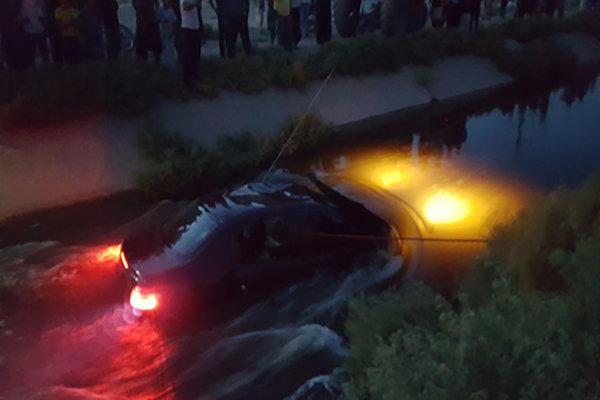 واژگونی خودرو پژو به کانال آب در ساری ۴ کشته داشت