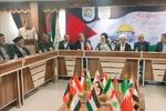 افتتاح دفتر جمعیت دفاع از ملت فلسطین در دانشگاه پیام نور