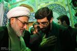 مسجد مقدس جمکران میں شہید حججی کے اہلخانہ کو خراج عقیدت
