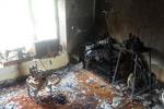 منزل مسکونی واقع در کلاته محمدعلی پهلوان بجنورد در آتش سوخت