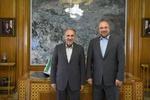 گزینه منتخب شهرداری تهران با محمد باقر قالیباف دیدار کرد