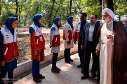 ممثل قائد الثورة يتفقد المناطق المتضررة من الفيضانات شمال شرقي إيران /صور