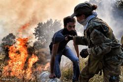 آتش سوزی گسترده در یونان