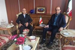 دیدار رئیس فدراسیون ووشو با سرکنسول ایران در کازان