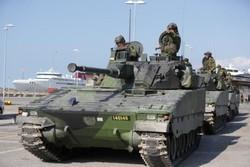 بودجه نظامی سوئد تا ۲۰۲۰ یک میلیارد دلار افزایش مییابد