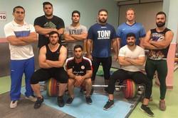 تیم وزنه برداری دانشجویان ایران