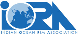 Picture depicts a logo for the Indian Ocean Rim Association (IORA)