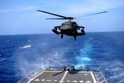 تحطم مروحية للجيش الأمريكي من طراز بلاك هوك قبالة سواحل اليمن