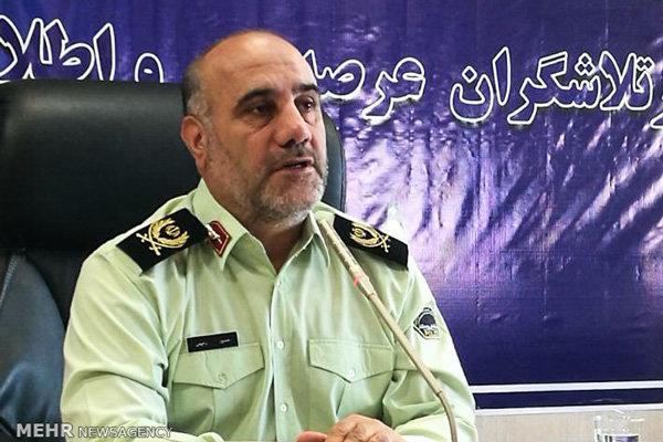حسین رحیمی فرمانده انتظامی تهران بزرگ